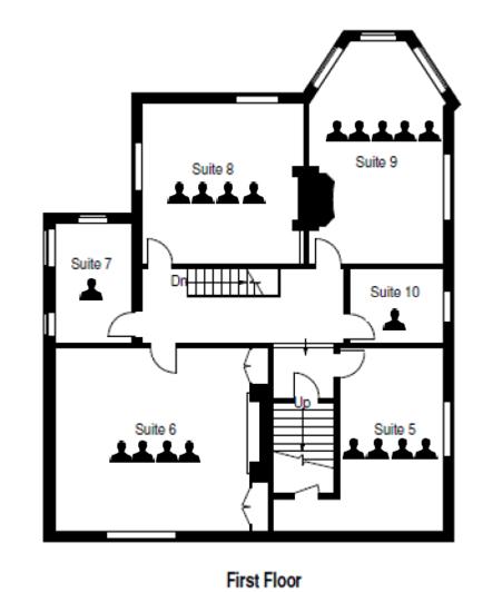 Three Gables First Floor