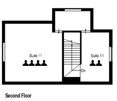 Three Gables Second Floor