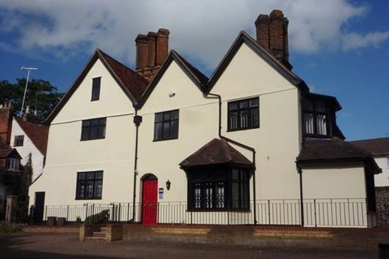 The Workstation Hemel Hempstead exterior. Office space to let at Three Gables business centre