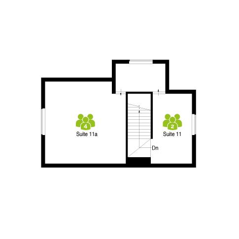 Office suite floor plan for The Workstation, Radlett (first floor)