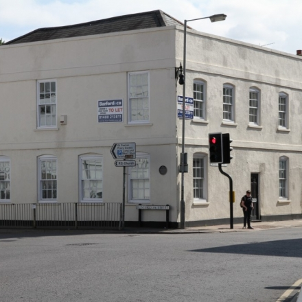 St Neots town centre location, parking spaces available to rent