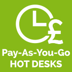 Pay As You Go Hot Desks at The Workstation