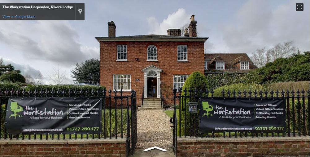 Virtual Tour Entrance to The Workstation, Rivers Lodge Business Centre in Harpenden