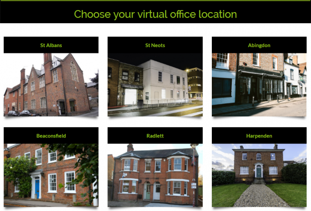 Choose Your Virtual Office Location - St Albans, St Neots, Abingdon, Beaconsfield, Radlett, Harpenden