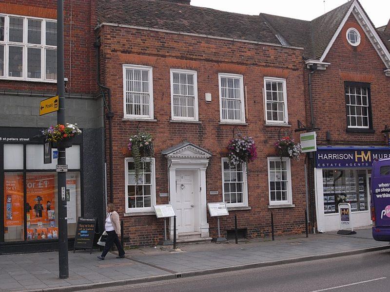 Exterior of Censeo House Business Centre - 6 St Peter's Street, St Albans, Hertfordshire AL1 3LF