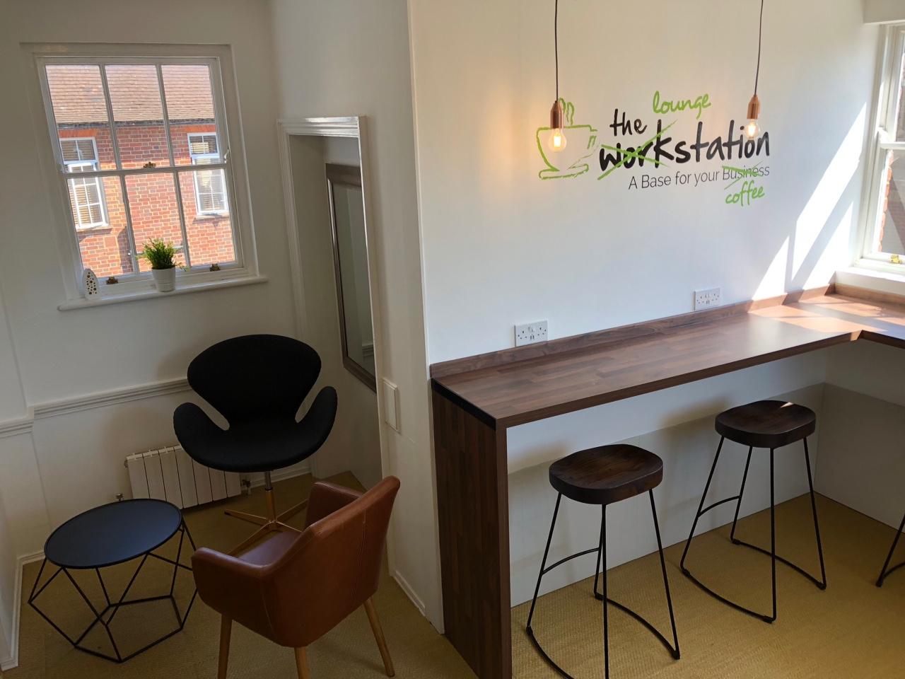 Business lounge at Markham House - The Workstation, Wokingham