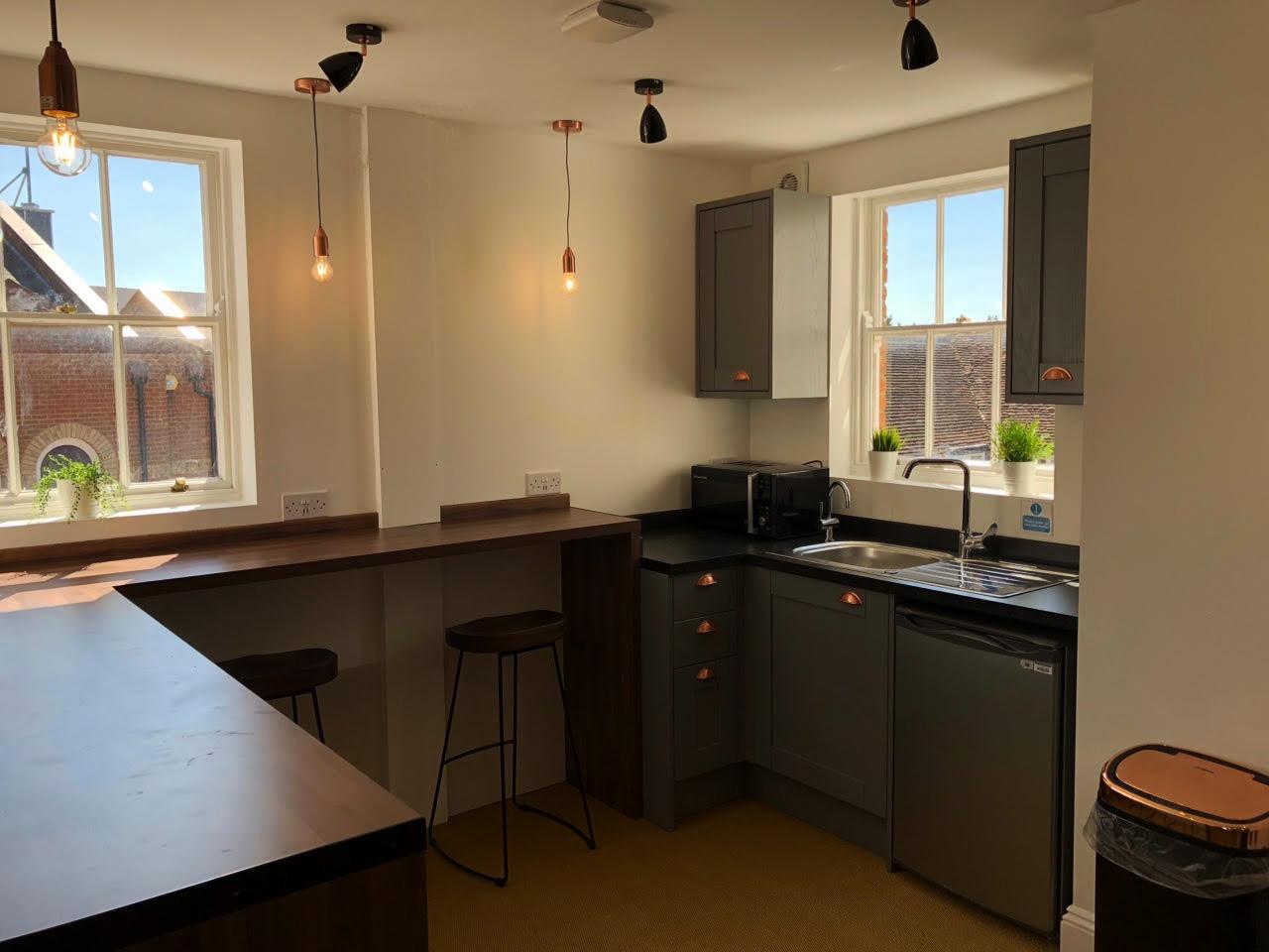 Markham House Kitchen area - The Workstation, Wokingham