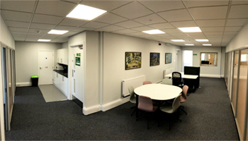 Small serviced office available to let at The Workstation, Southampton. Office space at Director General's House.