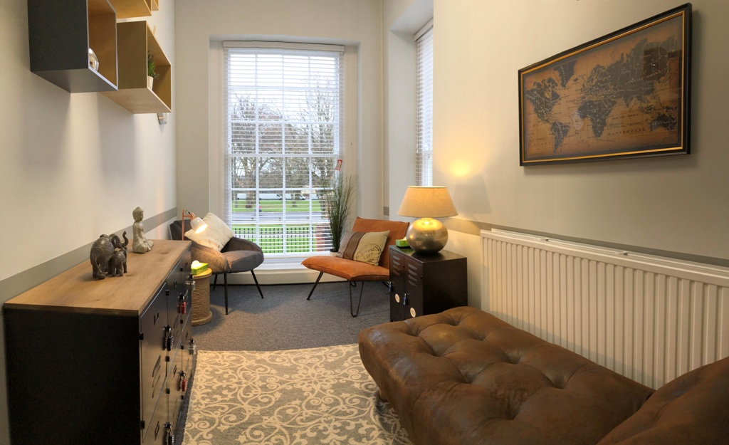 Inside the Consultant's Suite at DG House, Southampton