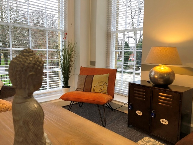 Inside the Consultant's Suite with Dual aspect view overlooking 'The Avenue' in Southampton