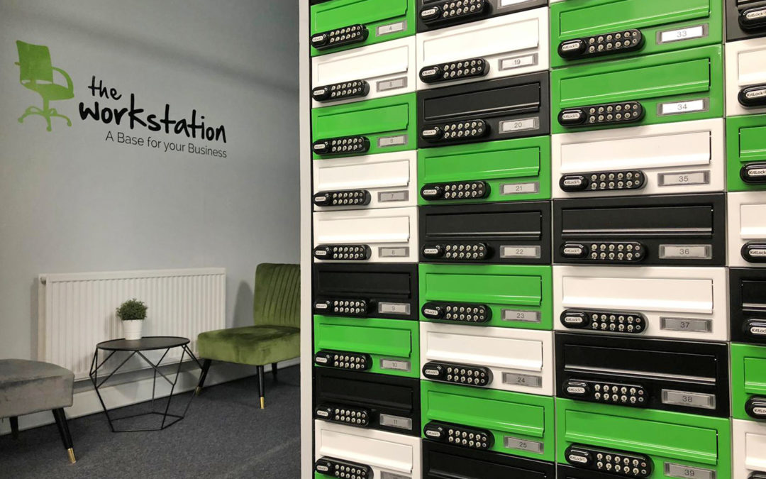 Virtual Office Mailboxes in the reception of Director General's House Southampton