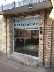 Entrance to Bellingham House, The Workstation Business Centre in St Neots