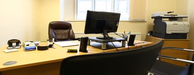 Interior of Arquen House business centre - serviced offices for rent at The Worktation, St Albans