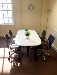 Meeting room at The Workstation, St Neots