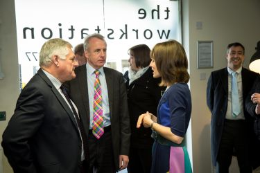 Bellingham House Foyer, Official Opening Event for The Workstation, St Neots