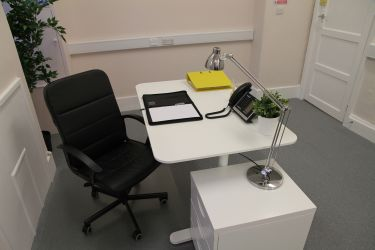 Inside serviced office space at Rivers Lodge Business Centre in Harpenden
