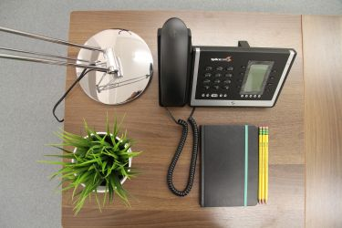 Private serviced office suite and comms packages